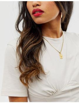 Goldgefüllte Halskette Mit Sternzeichenanhänger Skorpion by Asos