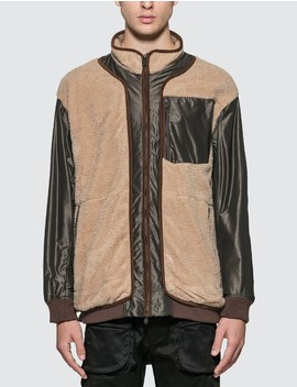Gore Tex Infinitum W Stitched Quilted Boa Jacket by              White Mountaineering