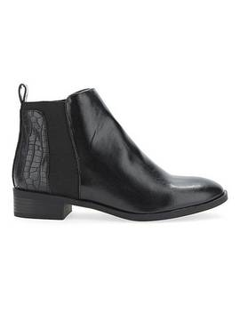 Imogen Chelsea Boot Wide Fit by Simply Be