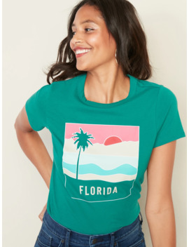 Florida Graphic Tee For Women by Old Navy