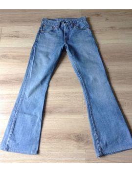 Levi's 516 Jeans Azul Flare 28 X 32 Feito Na Espanha Muito Bom Estado Veja Descrição by Ebay Seller