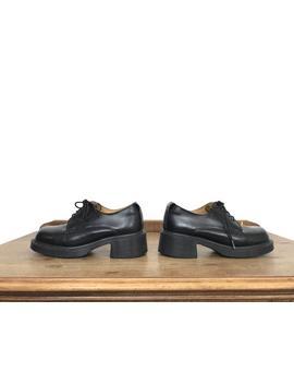 Vintage Doc Martens | Doc Marten 8461 | Doc Martens Size Uk4 | Dr. Martens Platform Shoes | Vintage Dr Martens | Vintage Heeled Docs by Etsy
