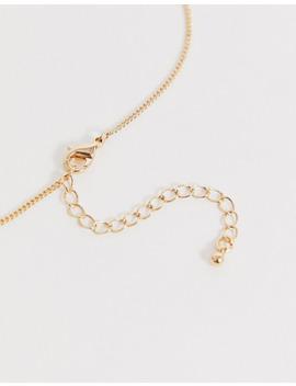 Asos Design – Set Mit 3 Goldfarbenen Halsketten Mit Cupchain Und Augen Anhänger by Asos