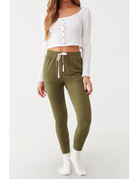 Drawstring Lounge Joggers by Forever 21