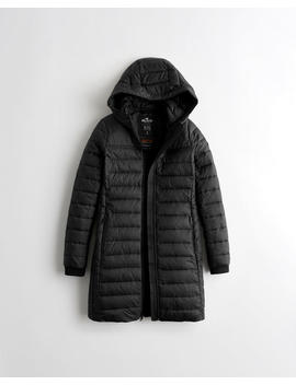 Lightweight Thermore Puffer Parka by Hollister