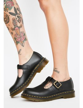Polley Smooth Mary Janes by Dr. Martens