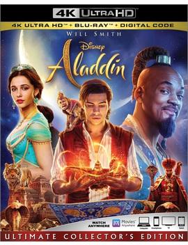 Aladdin (Live Action) (4 K Ultra Hd + Blu Ray + Digital Copy) by Disney