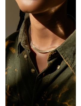 Snake Chain Collar Necklace by Urban Outfitters