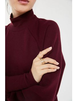 Ciara Chain Ring Set by Urban Outfitters