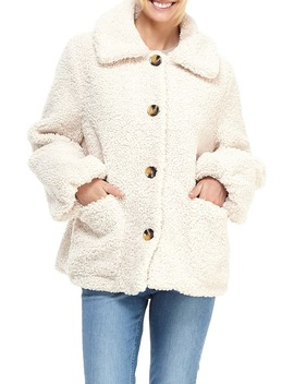 Willa Teddy Bear Coat by Gal Meets Glam Collection