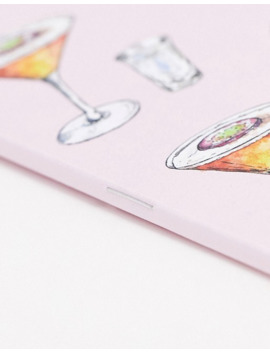 Coconut Lane Passion Fruit Martini Notebook by Coconut Lane