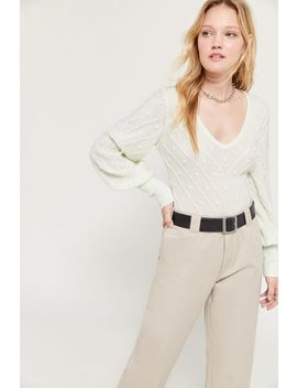 Keepsake Melody Textured Knit Sweater by Keepsake