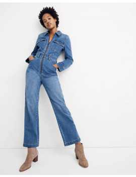 Denim Zip Front Coverall Jumpsuit: Western Edition by Madewell