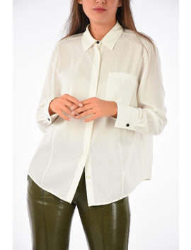 Hidden Closure Blouse by Dro Me