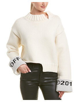 Off White Wool Blend Sweater by Off White