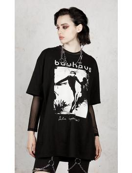 Bauhaus   Bela Lugosi's Dead T Shirt by Disturbia