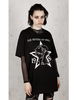 The Sisters Of Mercy   1984 T Shirt by Disturbia
