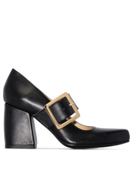 Melvin 90 Buckled Pumps by Roker
