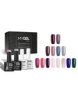 Four , Six  Or Ten Bottle Mylee Professional Gel Nail Polish Set by Groupon