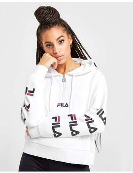 Fila Repeat 1/4 Zip Hoodie by Jd Sports