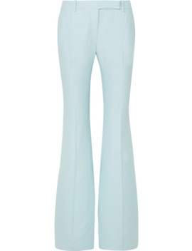 Crepe Flared Pants by Alexander Mc Queen