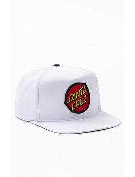 Santa Cruz Classic Snapback Hat by Pacsun