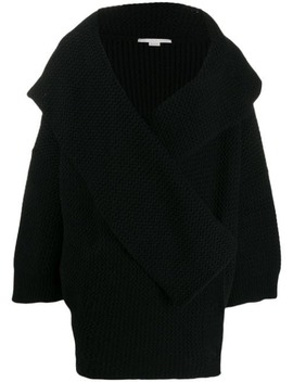 Wrap Front Knitted Cardi Coat by Stella Mc Cartney