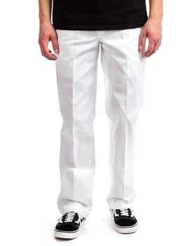 Dickies 873 Slim Straight Workpant Broeken (White) by Dickies