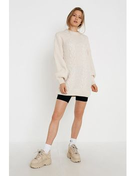 Uo Cable Knit Mini Dress by Urban Outfitters