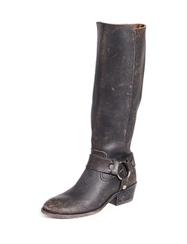 Carson Harness Tall Boots by Frye