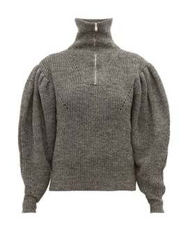 Kuma Gigot Sleeve Wool Sweater by Isabel Marant