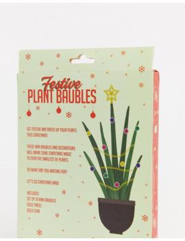 Gift Republic   Plantenkerstballen by Asos