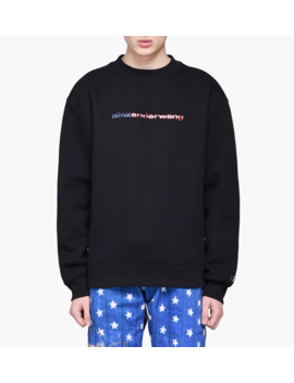 Dense Fleece Logo Sweatshirt by Alexander Wang