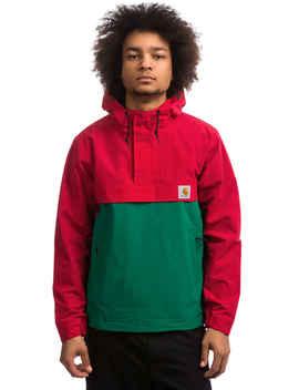 Carhartt Wip Nimbus Two Tone Pullover Jacket (Cardinal Dragon) by Carhartt Wip