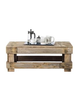 Del Huston Barnwood Coffee Table by Del Hutson Designs