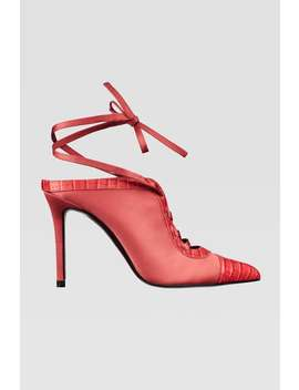 Tied High Heeled Shoes by Zara