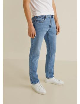 Jeans Bob Reguar Fit Ljus Tvätt by Mango