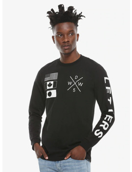Why Don't We Letters Tour Long Sleeve T Shirt by Hot Topic