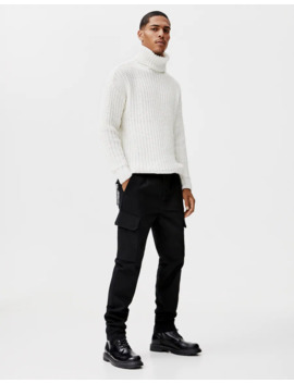 Pantalon Cargo Chaîne Taille by Pull & Bear