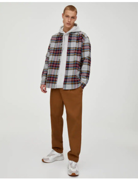 Pantalon Chino Tissu Ripstop by Pull & Bear