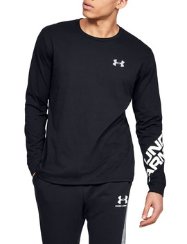 Ua Wordmark Long Sleeve Performance T Shirt by Under Armour