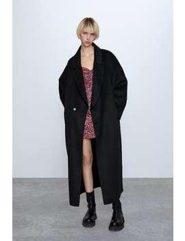 Casaco Oversize Comprido by Zara