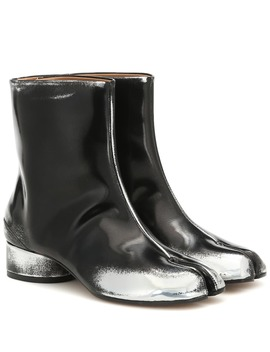 Tabi Faux Leather Ankle Boots by Maison Margiela