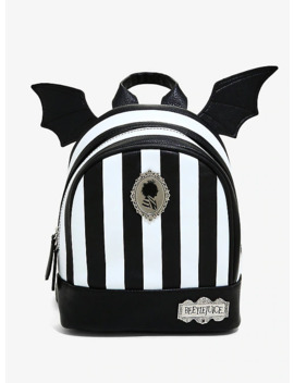 Beetlejuice Striped Mini Backpack   Box Lunch Exclusive by Box Lunch
