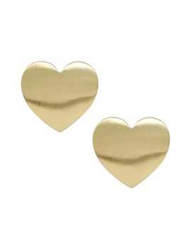 Heart Stud Earrings by Ettika