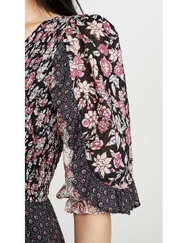 Long Sleeve Print Dress by La Vie Rebecca Taylor