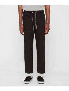 Luckett Cropped Slim Trousers by Allsaints