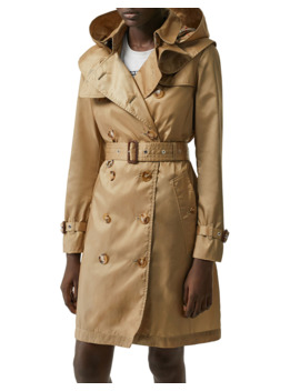 Kensington Eco Nylon Trench Coat by Burberry