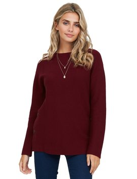 Crew Neck Sweater by Suzy Shier
