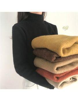 Alfie   Plain Turtle Neck Sweater by Alfie